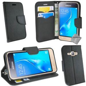 Détails sur Housse etui coque portefeuille pour Samsung Galaxy J7 (2016) film ecran