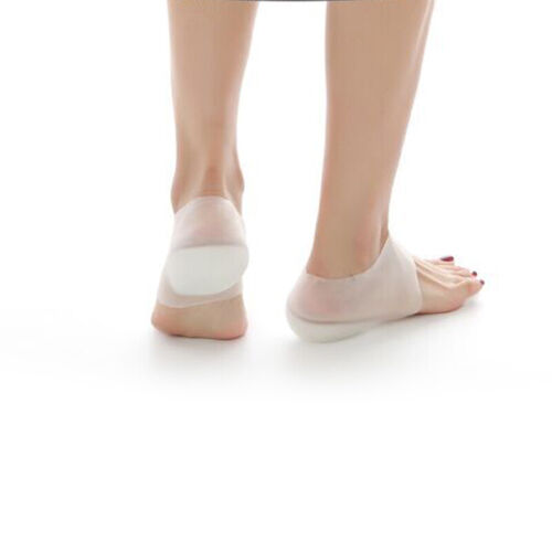 2//3//4cm Invisible Height Lift Heel Pad Sock Liners Increase Insole Pain Relieve
