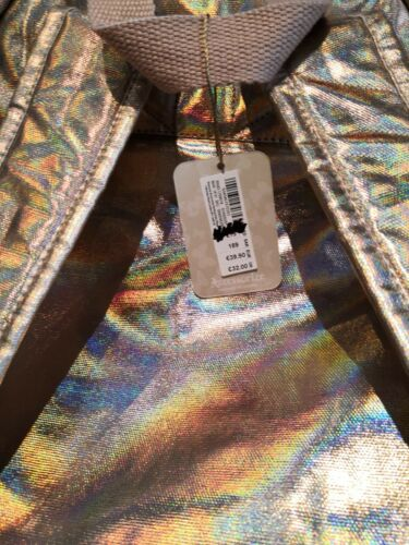 Couleur Accessorize Couleur Monsoon Grand Sac Holographique Roxie Métal Bnwt À Dames Dos zXwdqwR