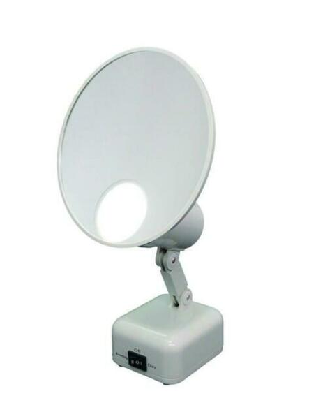Floxite 15x Supervision Magnifying, Floxite 10x Lighted Folding Travel Mirror