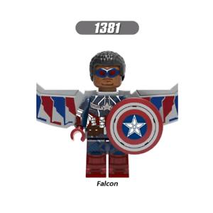 CRIMSON DYNAMO Black Widow 2020 Minifigure Lego MOC Marvel Iron Spider Man Thor