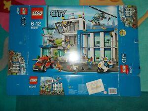 Lego® City Police - 60047 Éclosion du poste de police avec Ovp et Ba