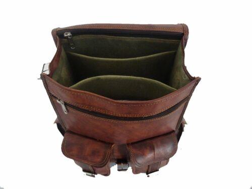 Bag Men/'s Vintage Leather New Backpack Cross body Bag Shoulder Laptop Bag