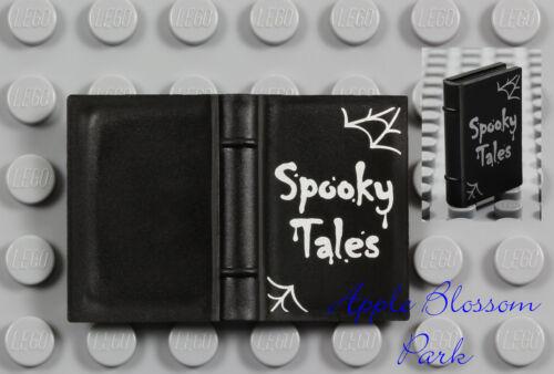 Elf Friends Halloween Story 2x3 Book NEW Lego Minifig Black SPOOKY TALES BOOK