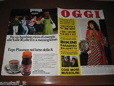 OGGI 1974/2=MITA MEDICI=GIULIETTA MASINA=IVA ZANICCHI=BUCCELLA MARIA GRAZIA=