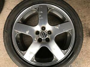 Volkswagen Santa Monica >> Details About Genuine Oem Vw Mk4 Golf 17 Santa Monica Spare Alloy Wheel Tyre 1j0601025j