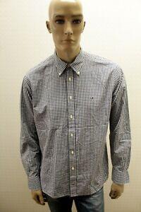 Camicia-TOMMY-HILFIGER-Uomo-Shirt-Man-Chemise-Maglia-Camisa-Blusa-Taglia-L