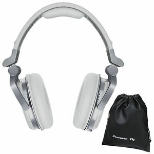 pioneer hdj 1500 w professional dj club monitoring headphones w pouch white ebay. Black Bedroom Furniture Sets. Home Design Ideas