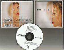 AMBER Sexual Li Da Di 7TRX REMIXES & EDIT & DUB USA CD Single THUNDERPUSS 2000