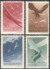 Hungary 1943 Planes/Glider/Eagle/Aviation/Birds/Transport/Fund 4v set (n28490)