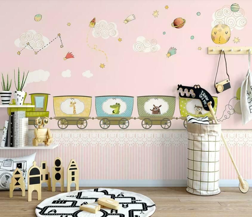 3D Cartoon Pictures I1984 Wallpaper Mural Sefl-adhesive Removable Sticker Wendy