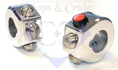 Der GüNstigste Preis Schaltereinheiten Custom Für 7/8-zoll-lenker (22 Mm) - Mit Tastern - Poliert