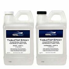 Totalboat Epoxy Resin Crystal Clear 1 Gallon Epoxy Resin Amp Hardener Kit For