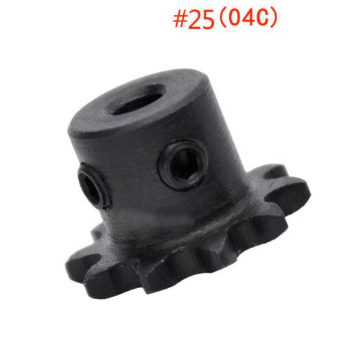 """PIÑÓN Cadena de #25 1//4/"""" 9 T 6.35 mm Paso de rueda de 9 dientes Rotativo Taladro 5//6//8mm"""