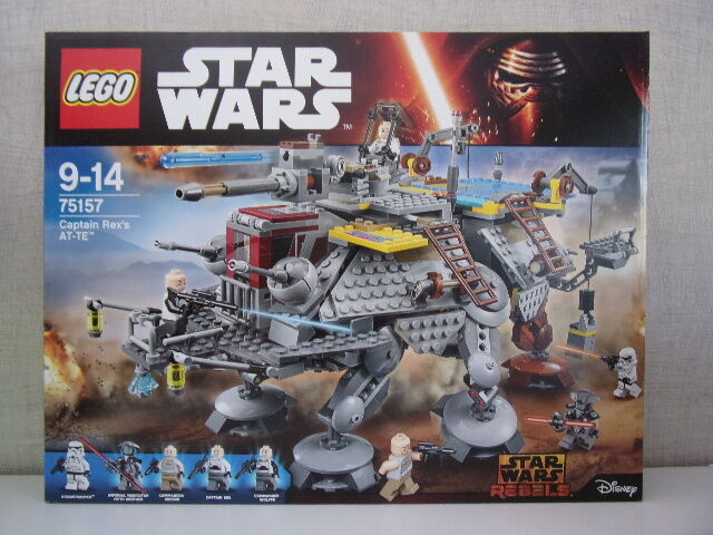 LEGO STAR WARS WARS WARS 75157 CAPTAIN REX AT-TE - Neuf et emballage d'origine 6997d9