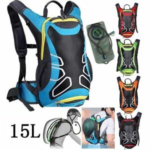 15-L-Bicycle-Cycling-bike-Rucksack-Backpack-Hydration-Pack-2L-Water-Bladder-Bag