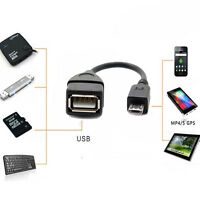 USB OTG Adapter USB 2.0 Buchse A auf USB Micro B Stecker für Tablet Smartphone