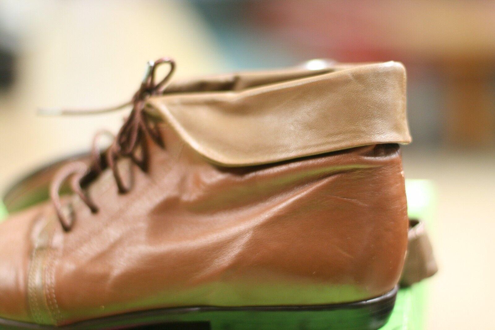 NINE WEST damen FOOTWEAR FOOTWEAR FOOTWEAR Größe 7M braun Farbe LEATHER TOP WITH RUBBER SOLE 6c84e8