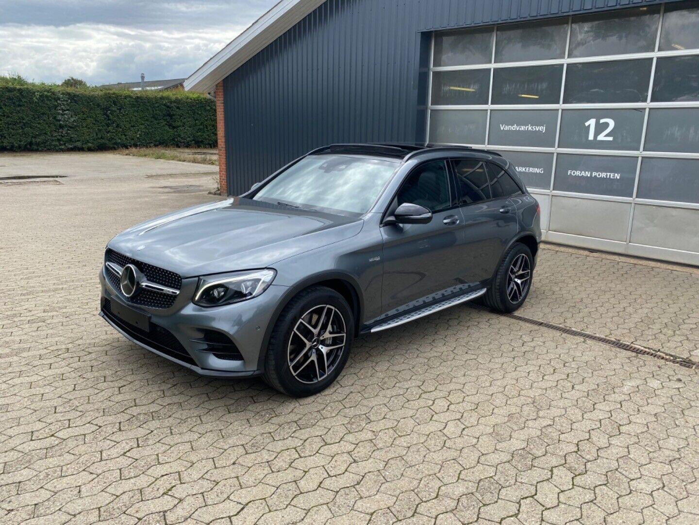 Mercedes GLC43 3,0 AMG aut. 4-M 5d - 729.900 kr.
