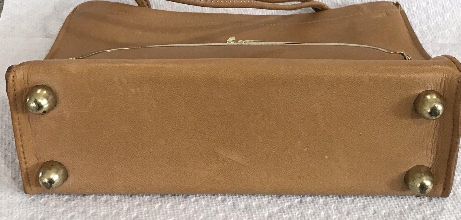 Vintage Coach Rare Leather Bonnie Cashin Stripe I… - image 6
