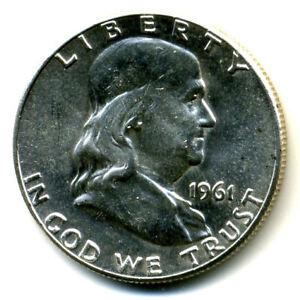 UN-Circulated... 1961-P   US   Silver  Benjamin Franklin Half Dollar  ..