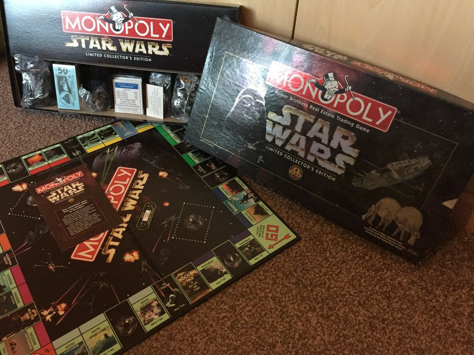 Monopoly  STAR WARS 20 YEARS LIMITED COLLECTORS EDITION  (1997)