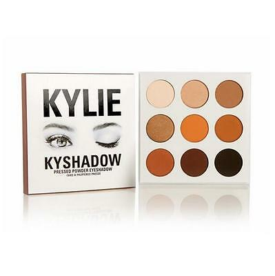 Makeup New  Eye Shadow Bronze 3D Earth Matte Pearlescent Creme Palette