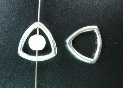 100 pcs Tibetan Silver triangle bead frame FC5147