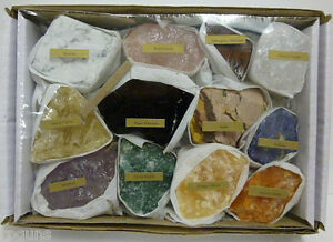 MIX-Large-Rough-Rock-Tumbling-Tumbler-Stones-Set-Minerals-crystals-collect-Bulk
