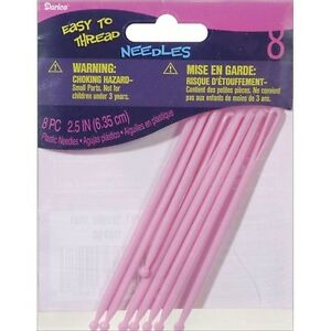 "Darice Plastic Large Eye Needles 2.75"" - 395382"