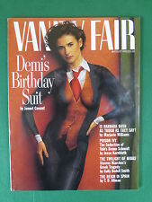 VANITY FAIR Magazine August 1992 CLASSIC DEMI MOORE NUDE BIRTHDAY SUIT COVER!