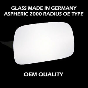 Toyota-Starlet-Wing-Mirror-Glass-Silver-RH-Driver-Side-1990-to-1999