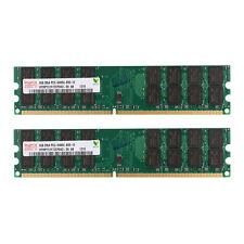 8GB 2x 4GB DDR2 800MHz PC2-6400 Desktop Memory RAM Non ECC AMD High Density Dimm