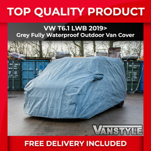 VW T6.1 CARAVELLE LWB TAILORED FULLY WATERPROOF VAN OUTDOOR ALL WEATHER COVER