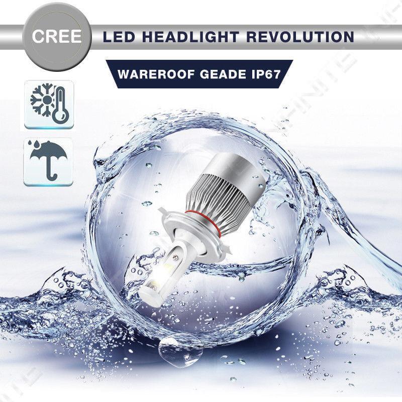Details about  /For Honda Accord Sport 2017-2016 MINI LED Headlight Kit Bulbs Cree H11 9005 HB3
