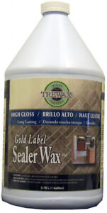 Floor Cleaner 1 Gal Sealer Wax Gloss Finish Gold Label For