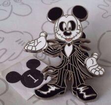 Mickey Mouse as Jack Skellington Costume Nightmare Before Christmas Disney Pin