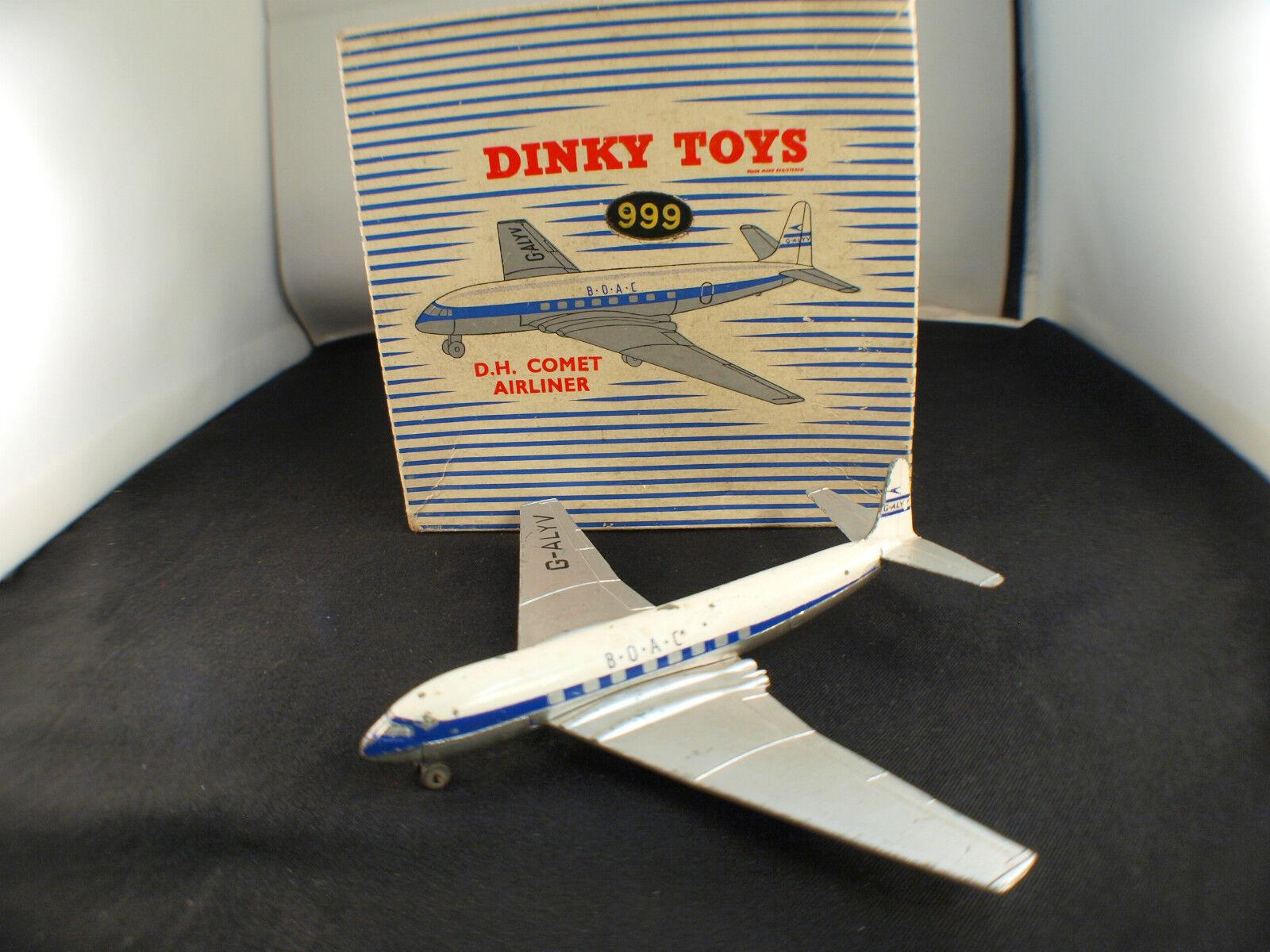 Dinky Toys GB n° 999 avion DH Comet airliner BOAC en boite