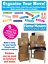 Moving-Home-Cardboard-Box-amp-Furniture-Colour-Code-Stickers-Removable miniature 1