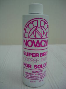Stained Glass Supplies - Novacan Copper it Patina - Large Size 237ml