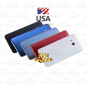 USA-For-HTC-U11-Fix-Housing-Battery-Back-Cover-Door-Rear-Glass-Replacement-Parts