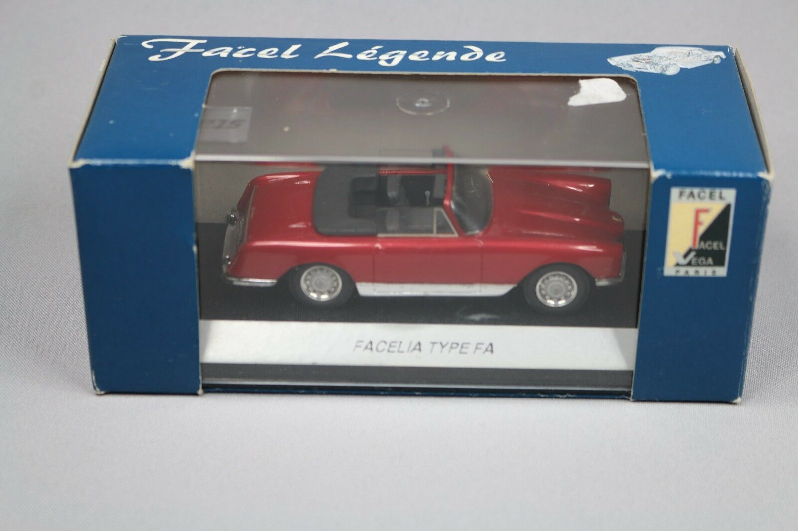 ZC587 Provence Moulage Facel Vega Legende FL008 Miniature 1 43 Facelia Type FA