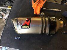 KTM 690 Duke Akrapovic Titanio Sistema Completo 2014