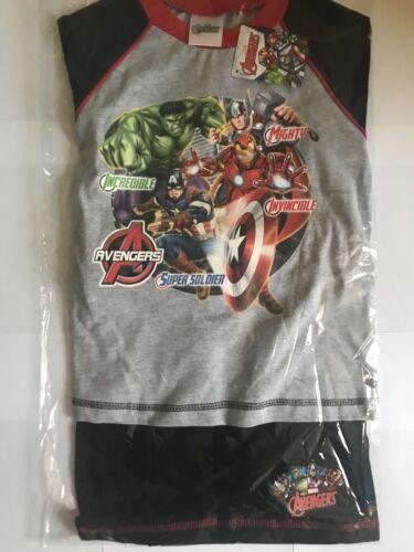 Ragazzi Marvel Avengers ESTATE PIGIAMI Pigiama Pj 9-10 anni