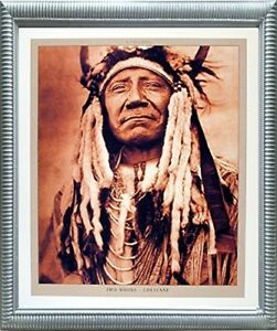 Image Is Loading Indian Old Chief Cheyenne Native American Wall Silver