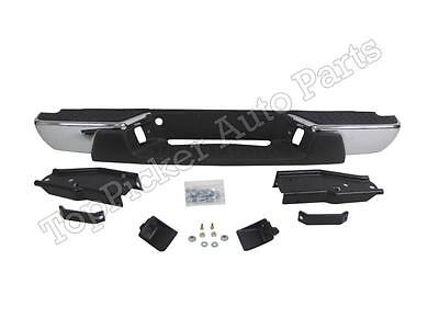NEW Painted To Match Steel Rear Step Bumper For 2008-2012 Chevy Colorado Canyon