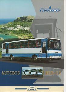 Autosan-H10-11-bus-made-in-Poland-1998-Prospekt-Brochure