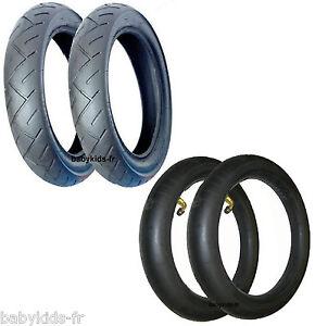 2 pneus poussette mura et 2 chambres air pneus maxi for Chambre a air 312 x 52 250