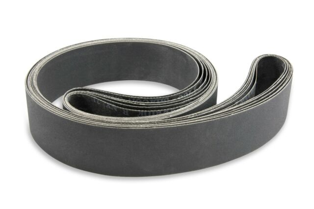 2 X 48 Inch 220 Grit Silicon Carbide Sanding Belts 6 Pack