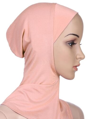 Cotton Muslim Inner Hijab Caps Islamic Underscarf Hat Hijab Islamic Ninja Hijab